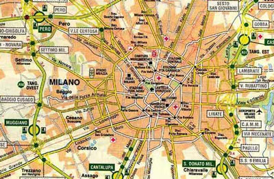 Milan transportation guide bus train or taxi